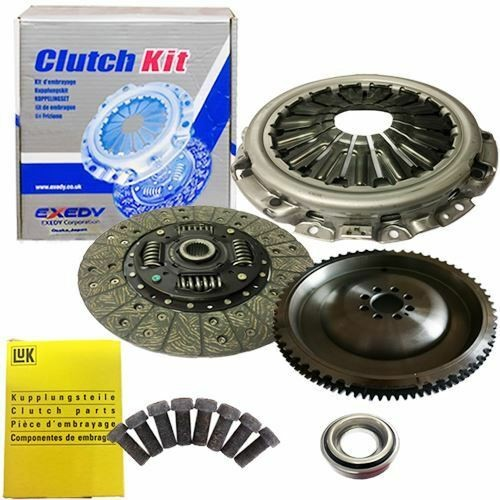 FLYWHEEL,EXEDY CLUTCH,PLATE,BEARING AND LUK BOLTS FOR PATHFINDER SUV 2.5 DCI 4WD
