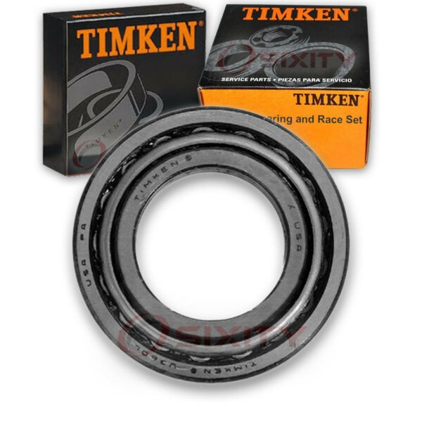 Timken Front Outer Wheel Bearing & Race Set for 1977 GMC K35  ez