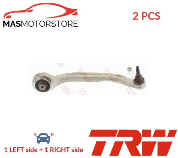 2x JTC2566 TRW LOWER FRONT LH RH TRACK CONTROL ARM PAIR P NEW OE REPLACEMENT