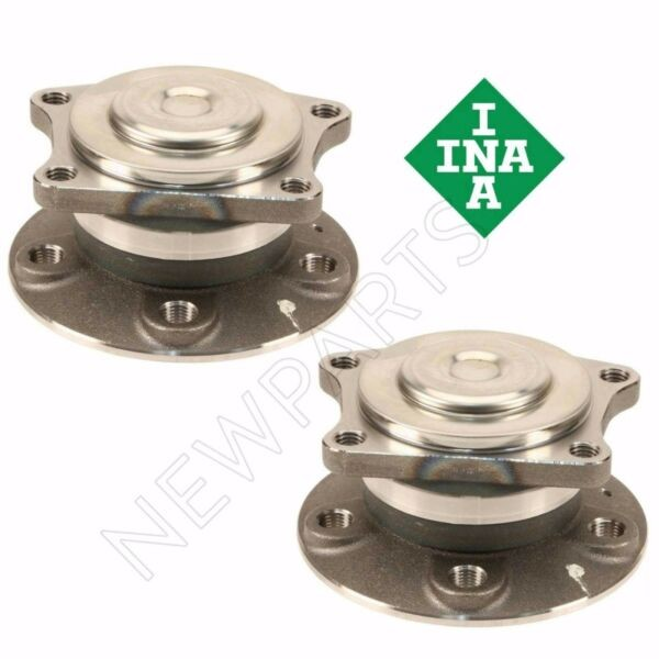 For Volvo S60 S80 Set of Rear Left & Right Wheel Hub w/ Bearings INA OEM