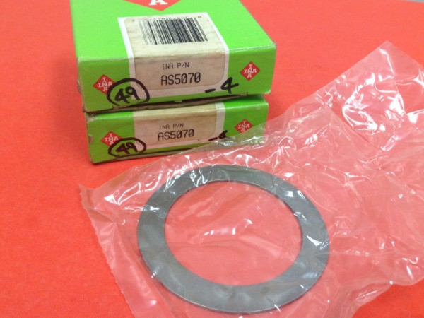 INA - P/N:AS5070 - Thrust Bearing Washer - Lot of Two (2) - NEW