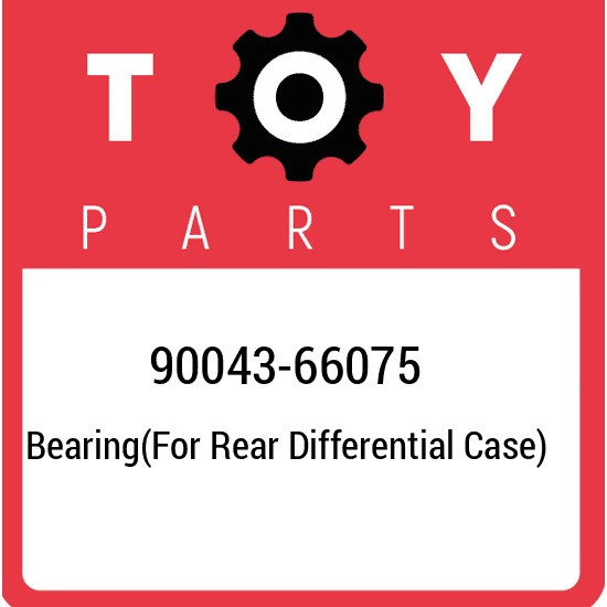 90043-66075 Toyota Bearing(for rear differential case) 9004366075, New Genuine O