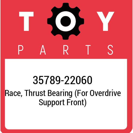 35789-22060 Toyota Race, thrust bearing (for overdrive support front) 3578922060