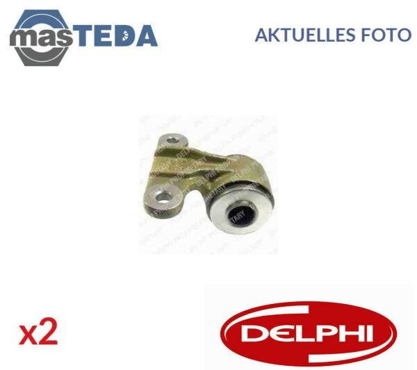 2x Delphi Rear Wishbone Bearing Bearing Bushing TD644W G NEW OE QUALITY