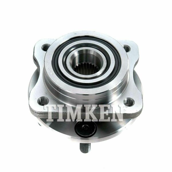 513122 Wheel Bearing and Hub Assembly Front Timken 513122