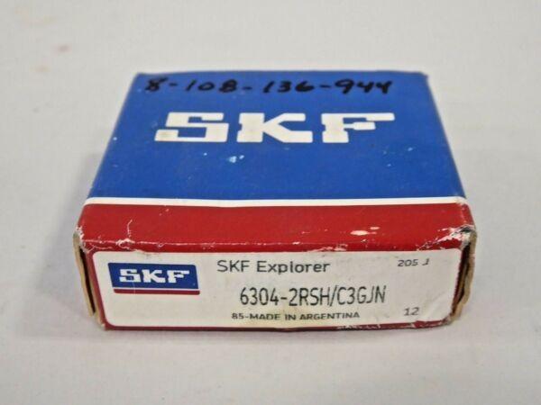 SKF 6304 2RSH/C3GJN Sealed High Temp Deep Groove Ball Bearing