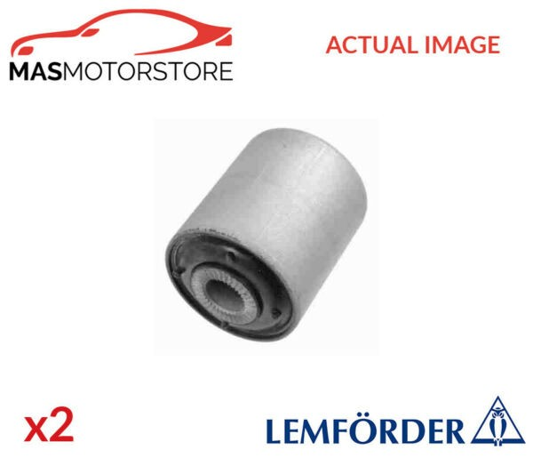 2x 33730 01 LEMFÖRDER LOWER CONTROL ARM WISHBONE BUSH PAIR P NEW OE REPLACEMENT