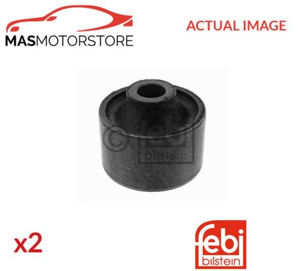 2x 01311 FEBI BILSTEIN LOWER FRONT CONTROL ARM WISHBONE BUSH PAIR P NEW