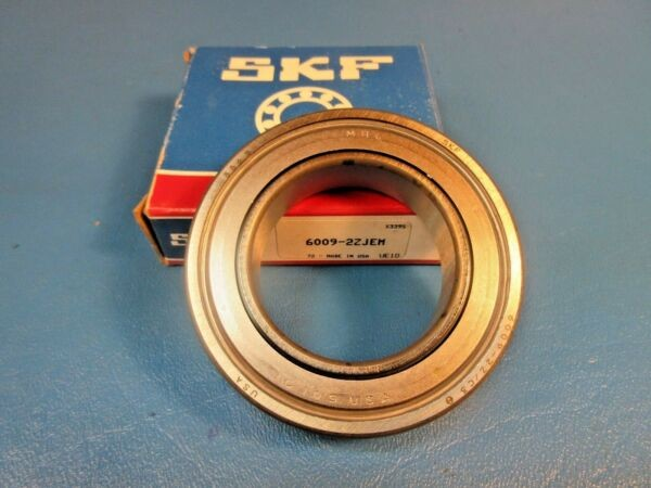 SKF 6009-2ZJEM Deep Groove Ball Bearing (FAG, NTN, KOYO, NSK) USA,6009 2Z JEM