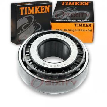 Timken Front Outer Wheel Bearing & Race Set for 1971-1972 Dodge B300 Van  um