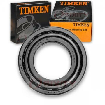 Timken Front Inner Differential Bearing Set for 1971-1980 Ford Pinto  lh