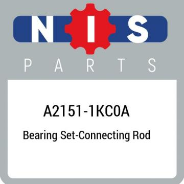 A2151-1KC0A Nissan Bearing set-connecting rod A21511KC0A, New Genuine OEM Part