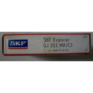 NEW IN BOX SKF QJ 211 MA/C3 Four point contact bearings, ID 55 mm, OD 100 mm