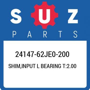 24147-62JE0-200 Suzuki Shim,input l bearing t:2.00 2414762JE0200, New Genuine OE