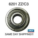 SKF 6201-2ZC3 6201-ZZC3 6201ZZ C3 Radial Ball Bearing 12X32X10 Made in ITALY