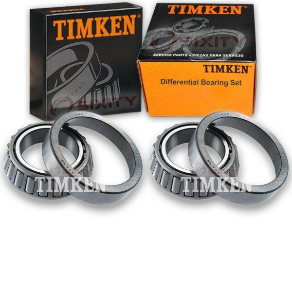 Timken Rear Differential Bearing Set for 1975-1981 Chevrolet G20  fy #1 image