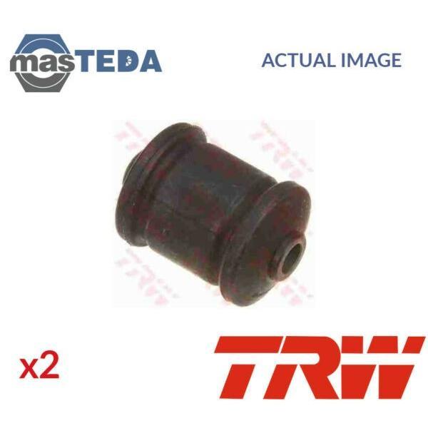 2x TRW OUTER CONTROL ARM WISHBONE BUSH PAIR JBU546 P NEW OE REPLACEMENT #1 image