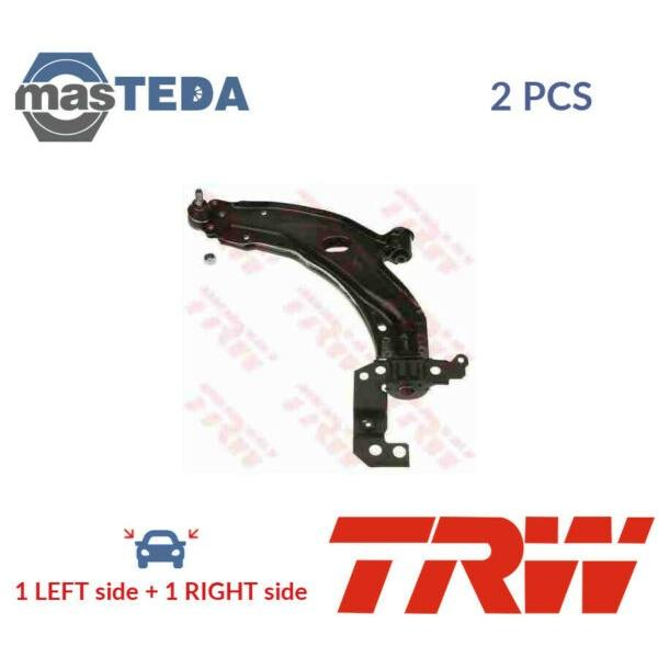 2x TRW FRONT LH RH TRACK CONTROL ARM PAIR JTC1150 I NEW OE REPLACEMENT #1 image